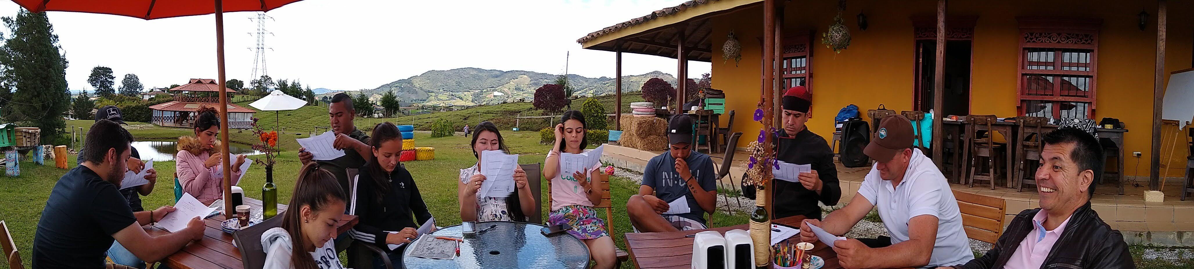 Familia Empresarial Entrena al Aire Libre: Construyendo acuerdos
